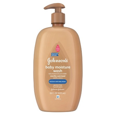Johnson's Vanilla Oatmeal Baby Wash - 28.0 oz.
