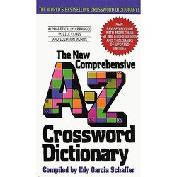 The New Comprehensive A-Z Crossword Dictiona (Revised) (Paperback) by Edy Garcia Schaffer
