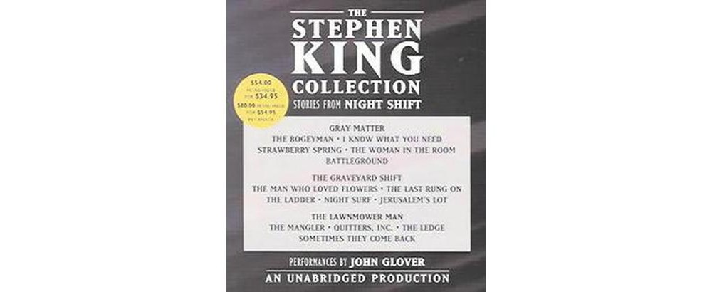 Stephen King Collection : Stories From Night Shift: Gray Matter / The Graveyard Shift / The Lawnmower