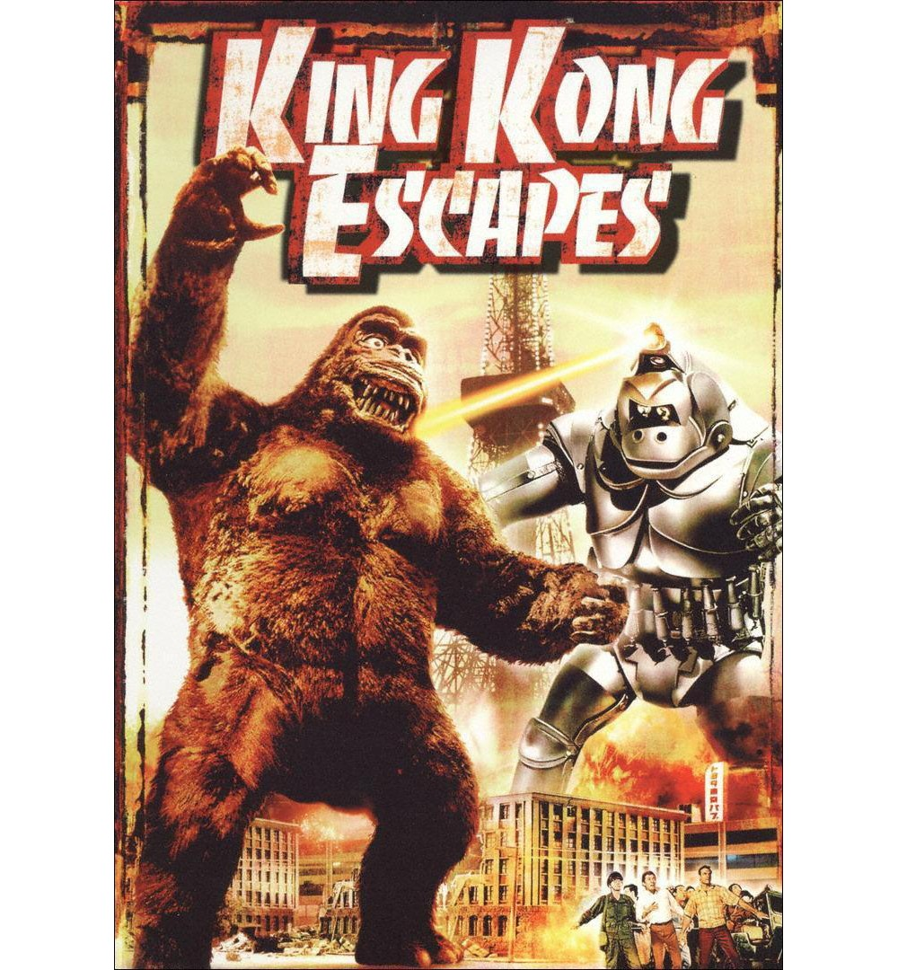 King kong escapes (Dvd), Movies