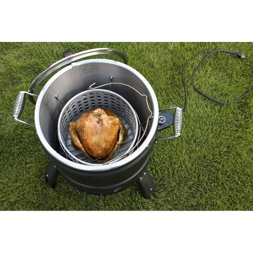 how to turn on butterball electric turkey fryer