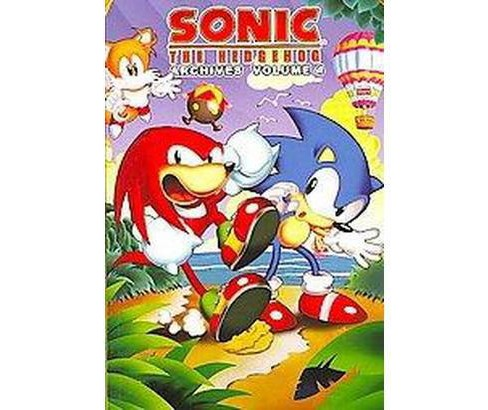 Sonic the Hedgehog Archives 4 (Paperback) - image 1 of 1