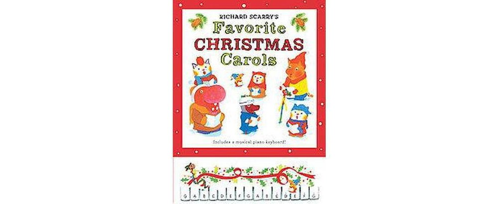 Richard Scarry's Favorite Christmas Carols (Hardcover)
