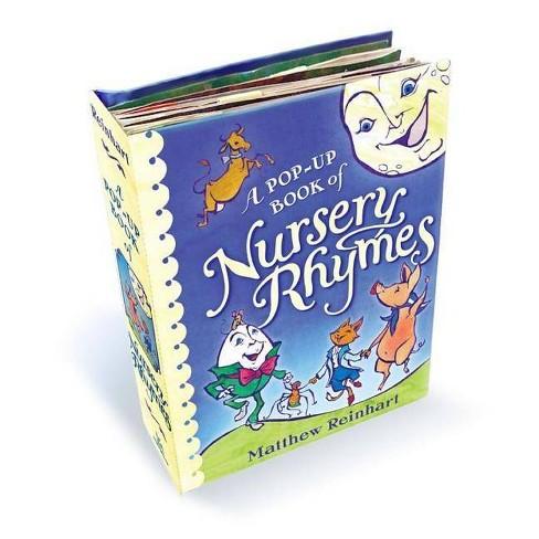 Pop Up Book Of Nursery Rhymes Hardcover Matthew Reinhart