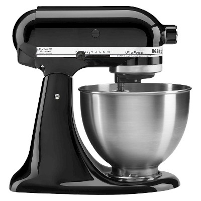 KitchenAid® Ultra Power 4.5 Quart Stand Mixer Onyx Black - KSM95