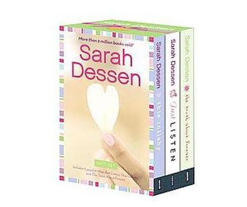 Sarah Dessen : Just Listen, This Lullaby, the Truth About Forever (Gift) (Paperback) - image 1 of 1