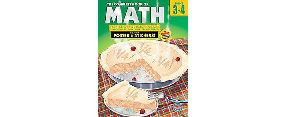 Complete Book of Math, Grades 3-4 (Workbook) (Paperback)