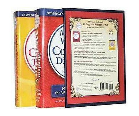 Merriam-Webster's Collegiate Reference Set (Hardcover) - image 1 of 1