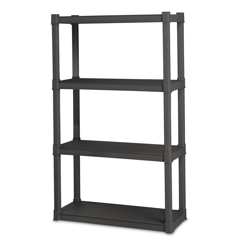 Sterilite 4-Shelf Storage Unit - Gray