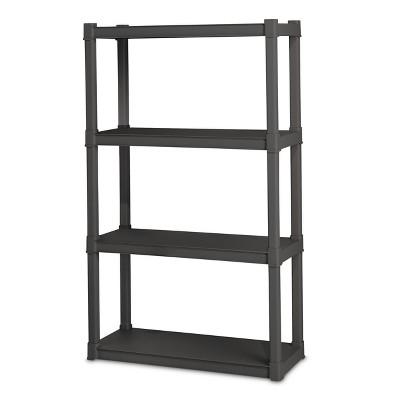 Sterilite® 4 Shelf Storage Unit   Gray