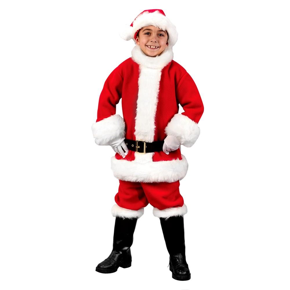 Boys Santa Suit Costume - Large (10-12), Variation Parent