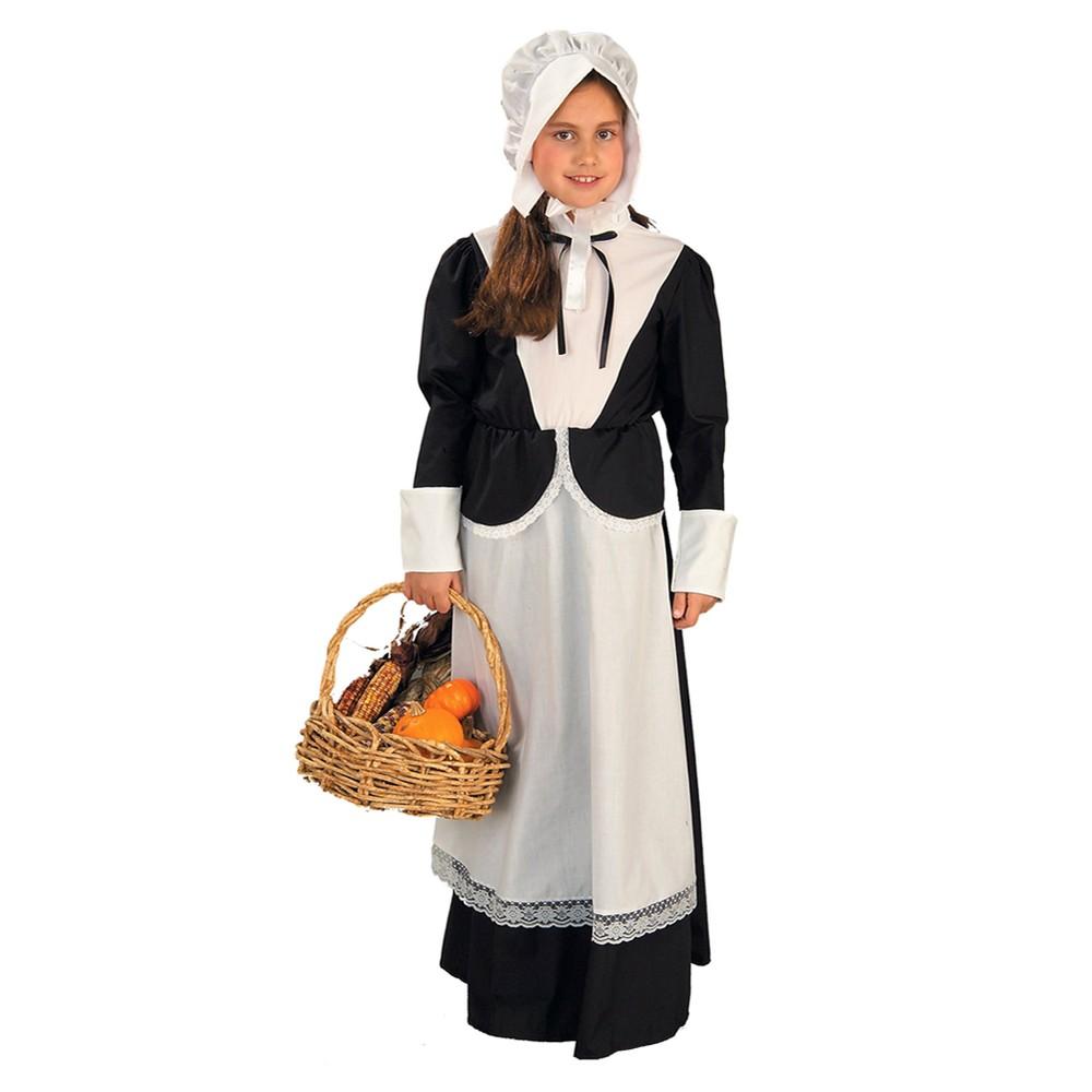 Girls Pilgrim Costume Large (10-12), Variation Parent
