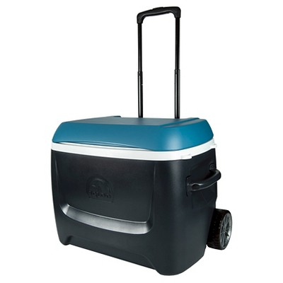 Igloo Island Breeze Maxcold 50 Quart Roller Cooler