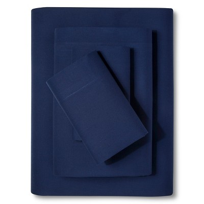 Easy Care Sheet Set (Twin)Admiral Blue - Room Essentials™