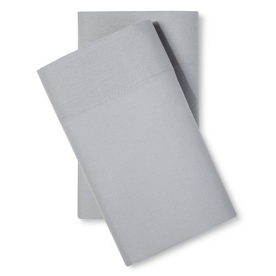 Easy Care Pillowcase Set (King)Gray Mist - Room Essentials™