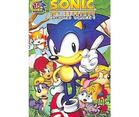 Sonic the Hedgehog Archives 1 (Paperback) - image 1 of 1