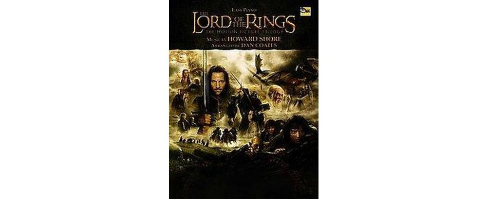 Lord Of The Rings Easy Piano : The Motion Picture Trilogy (Paperback)