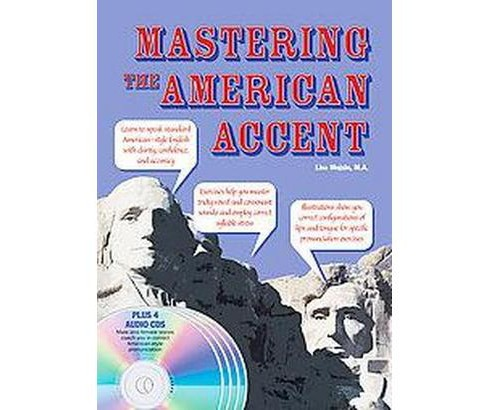 Mastering the American Accent (Paperback) (Lisa Mojsin) - image 1 of 1
