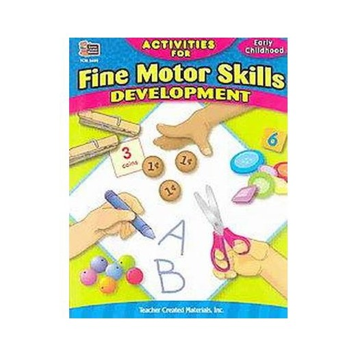 Activities For Fine Motor Skills Development Paperback