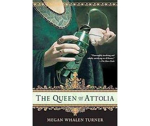 Queen of Attolia (Reissue) (Paperback) (Megan Whalen Turner) - image 1 of 1