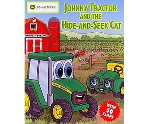 Johnny Tractor and the Hide-and-Seek Cat (Hardcover) (Cathy West) - image 1 of 1