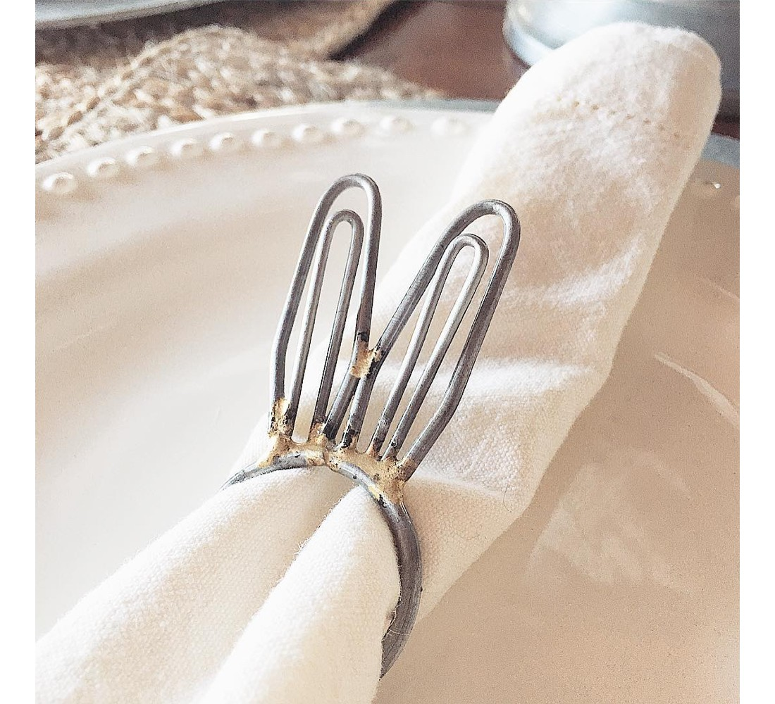 Metal Bunny Ear Napkin Ring - Hearth & Hand™ with Magnolia