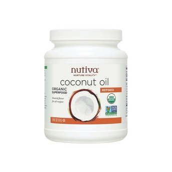 Nutiva® Refined Organic Coconut Oil - 54oz