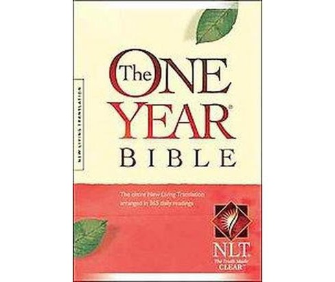 One Year Bible : Arranged in 365 Daily Readings, New Living Translation (Compact) (Hardcover) (Tyndale - image 1 of 1