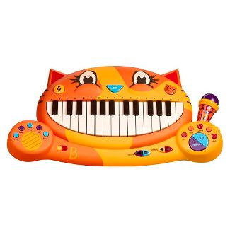 meowsic keyboard - music toys by b. toys (68612)