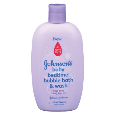 Johnson's Baby Bedtime Bubble Bath and Wash - 15 oz.