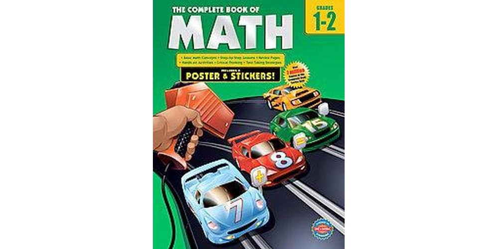 Complete Book of Math, Grades 1-2 (Workbook) (Paperback)