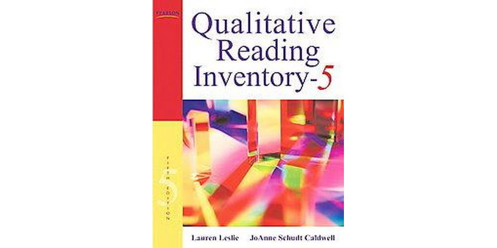 Qualitative Reading Inventory (Paperback) (Lauren Leslie)