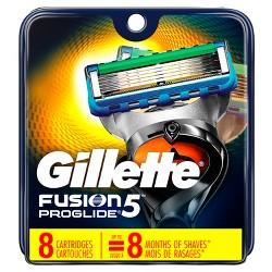 Gillette Fusion5 ProGlide Men's Razor Blade Refills - 8ct