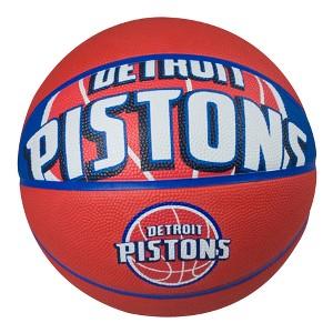 Spalding NBA Detroit Pistons 29.6 Basketball, Blue