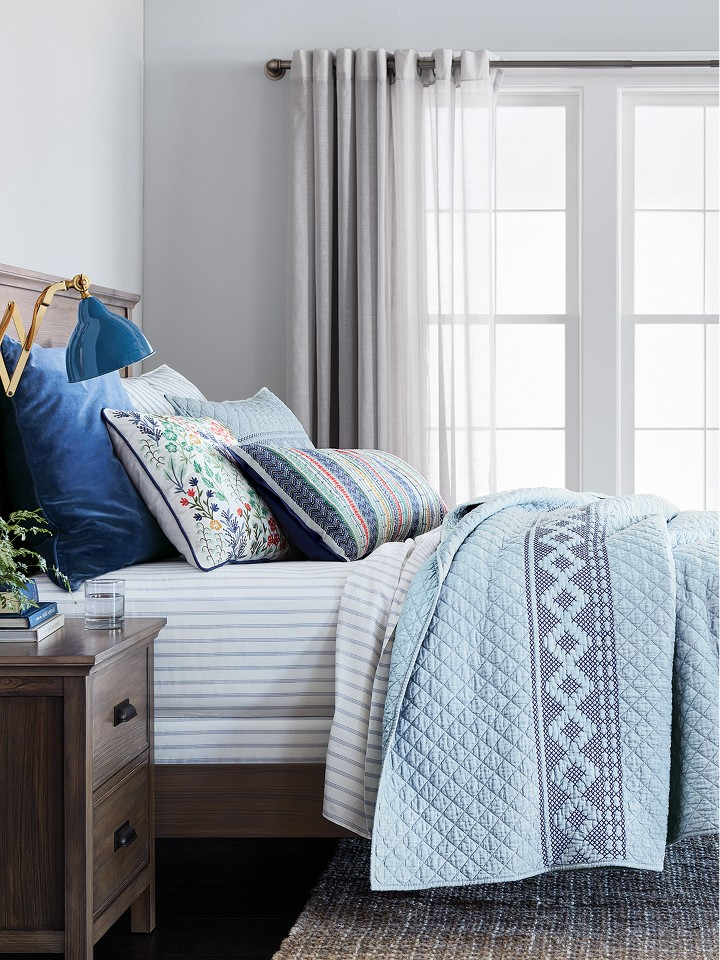 Clock Some Zzzs In Style Threshold Bedroom Furniture