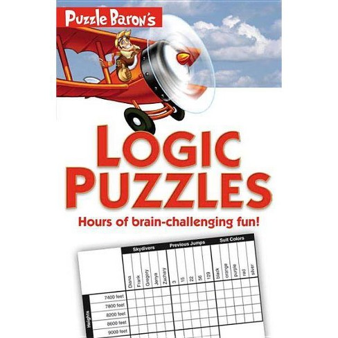 Puzzle Baron's Logic Puzzles (Paperback) (Stephen P. Ryder) - image 1 of 1