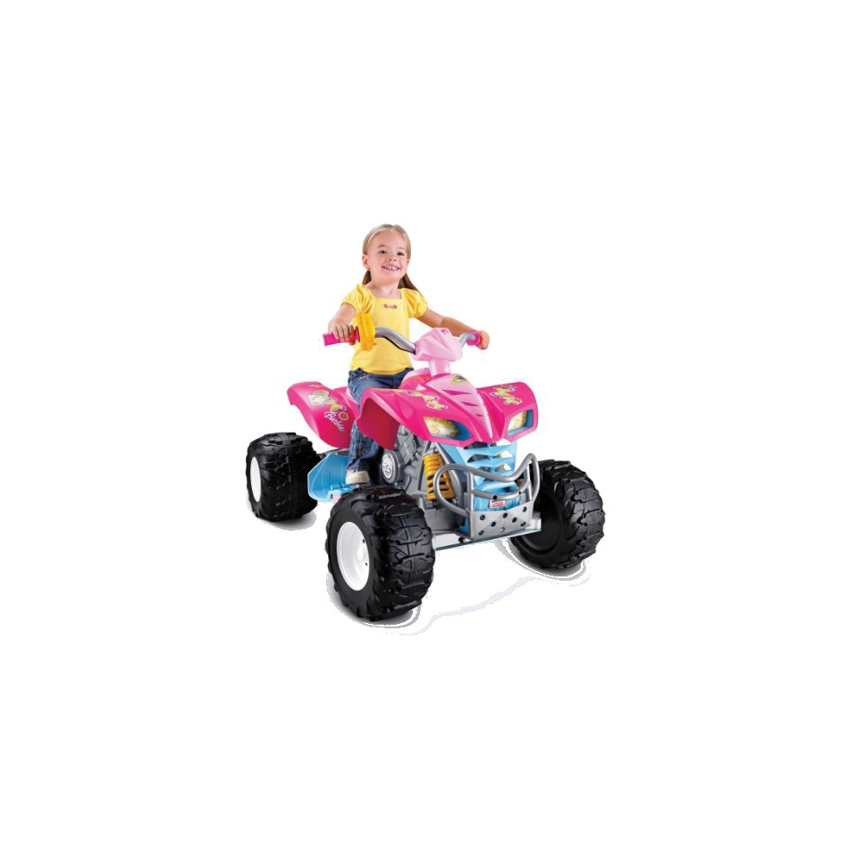 Fisher Price Power Wheels Barbie KFX 12V
