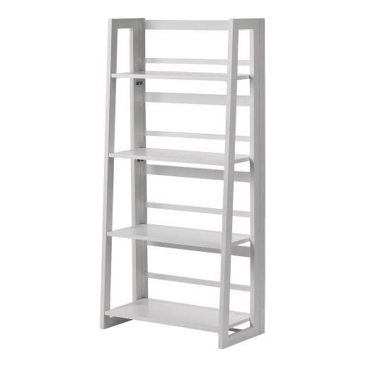Dolce 4 Shelf Folding Bookcase ...