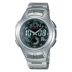 Casio Men's Ana-Digi Sport Watch - Silver (AQ160WD-1BV)