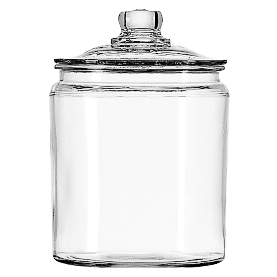 Anchor Hocking Glass Jar Set of 2   1/2 Gallon