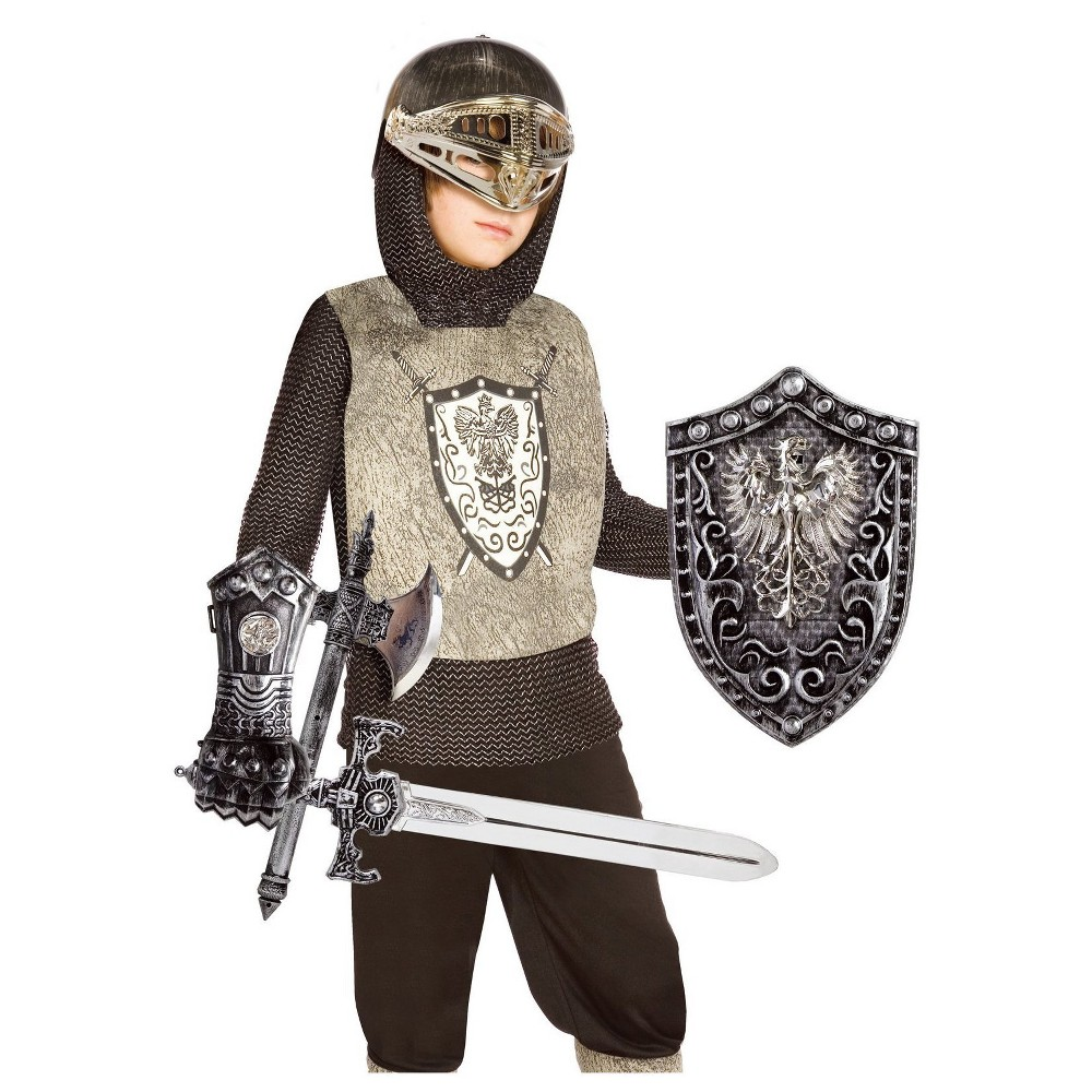 Boys Knight Costume Kit - One Size Fits Most, Size: M(7-8)