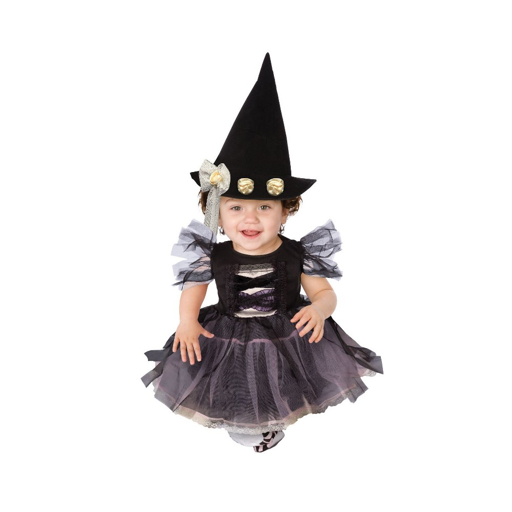 Baby/Toddler Lace Witch Costume 6-12M, Toddler Girls, Size: 6-12 Months