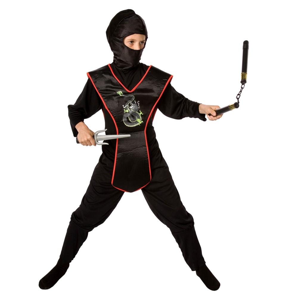 Boys Ninja Costume Kit, Size: M(7-8)