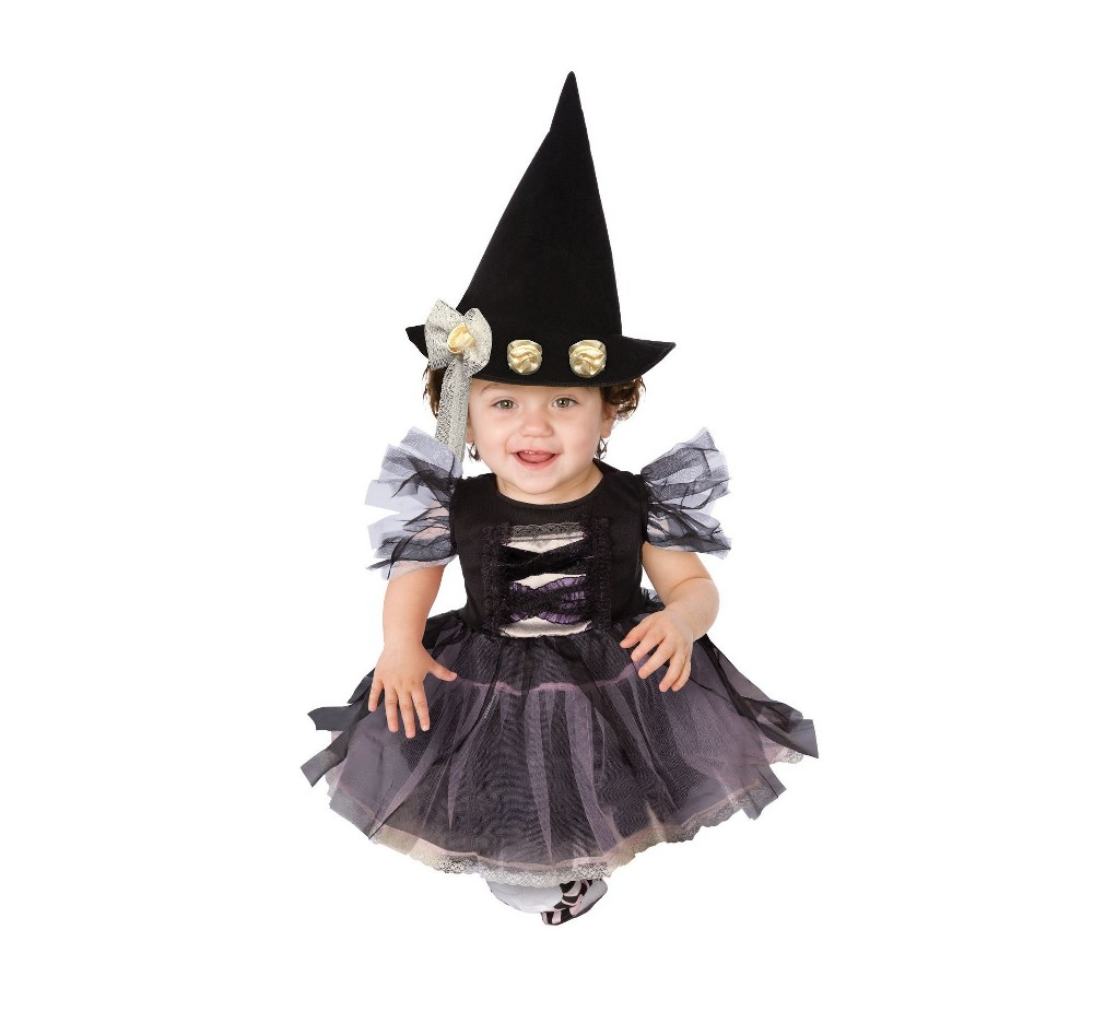 Baby/Toddler Lace Witch Costume 2T, Toddler Girl's
