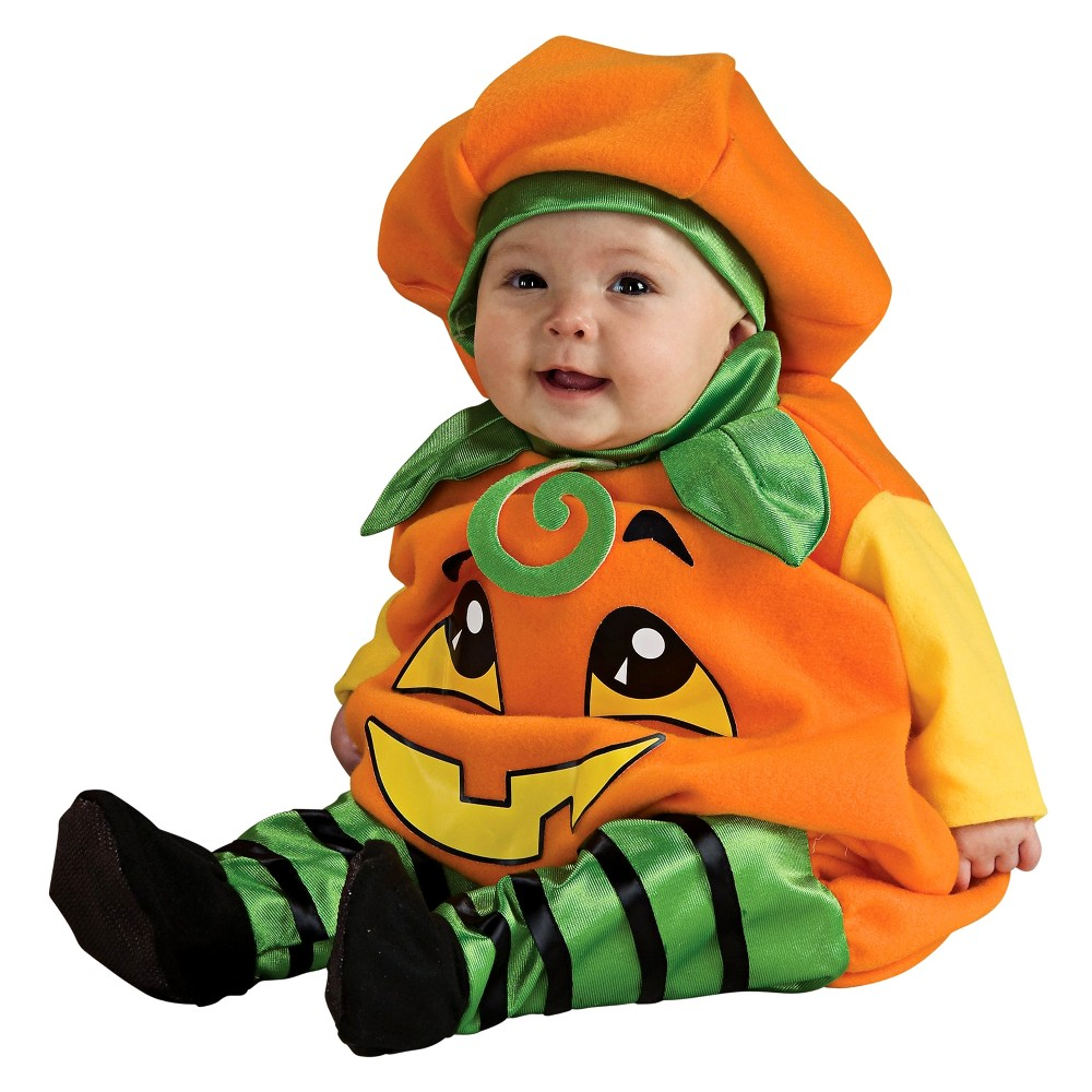 Baby Pumpkin Jumper Costume 6-12 M, Infant Unisex, Size: 6-12 Months