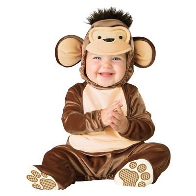 Baby Mischievous Monkey Costume 6-12 Months