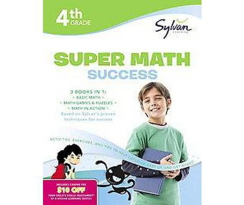 4th Grade Super Math Success (Paperback) (Amy Kraft) - image 1 of 1