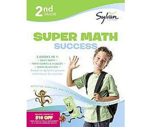 2nd Grade Super Math Success (Paperback) - image 1 of 1