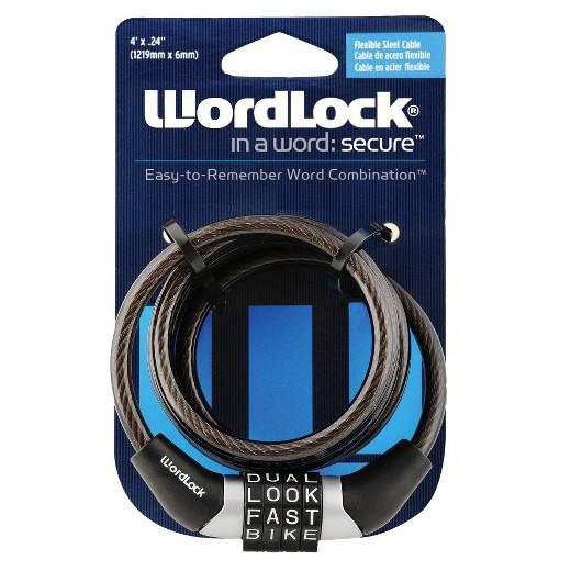 Wordlock 4 Combination Bike Lock Target