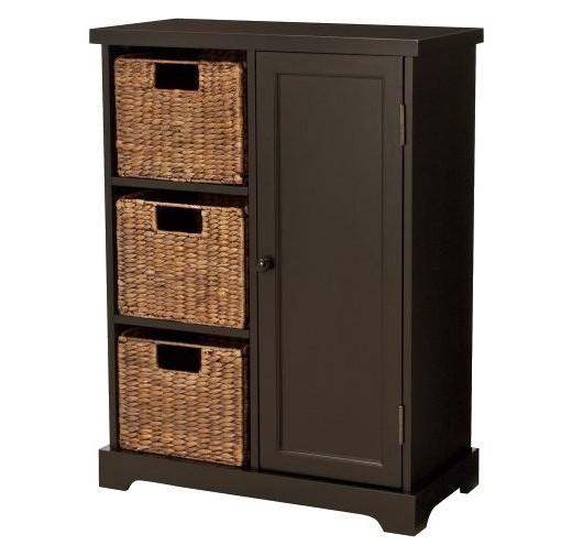 Entryway Cabinet entryway storage cabinet - espresso : target